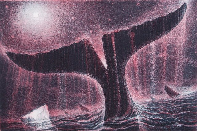 David Blackwood, 'Twilight Sounding', 2010, Other, Etching, Winchester Galleries