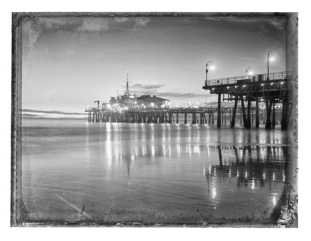 , 'Santa Monica Pier II,' 2017, Galerie XII