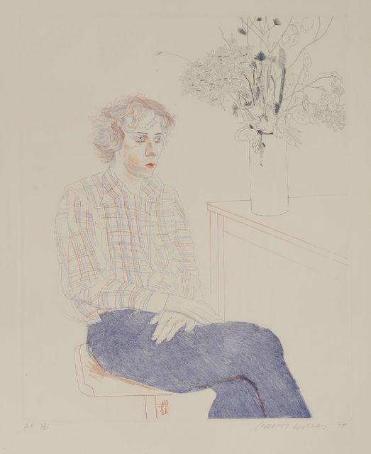 David Hockney, 'Gregory (Sac 169)', 1974, Sworders