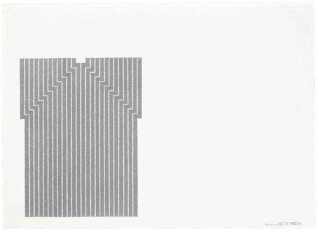 , 'Luis Miguel Dominguin,' 1970, Gemini G.E.L.