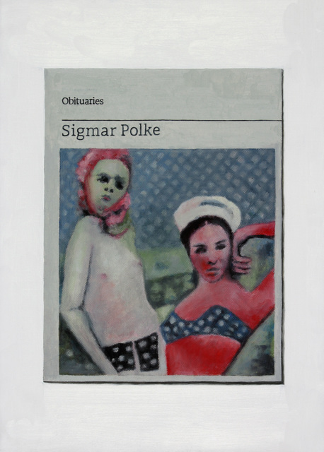 , 'Obituary: Sigmar Polke,' 2015, Charlie Smith London