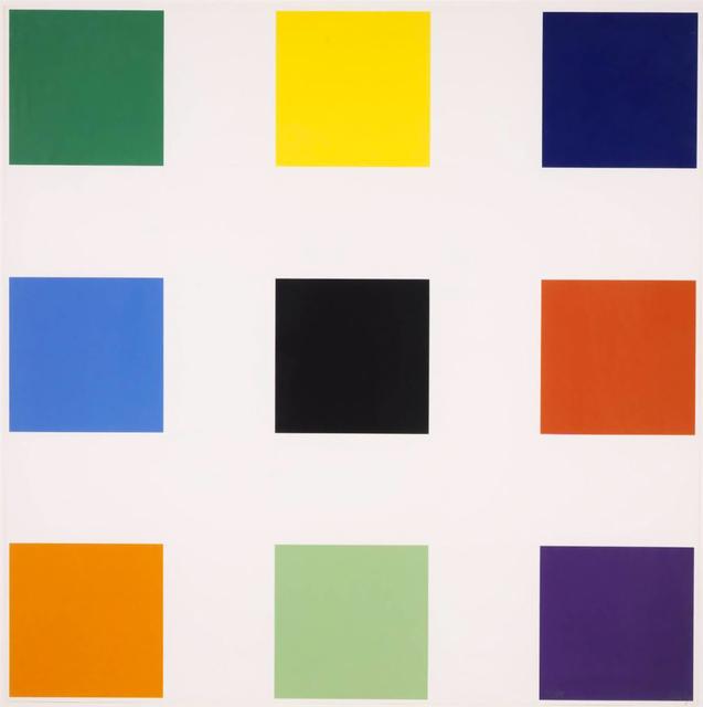 , 'Nine Squares,' 1977, Mary Ryan Gallery, Inc