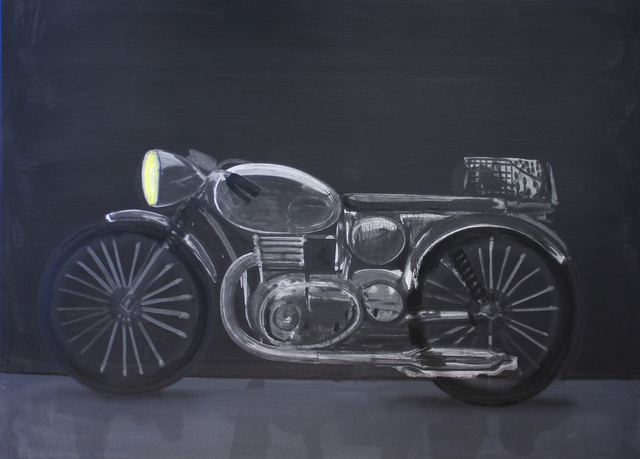 , 'Motorcycle #2: Moonlight Night,' , Michael Gibson Gallery