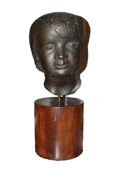 , 'Head of Young Boy,' 1935, Wallector