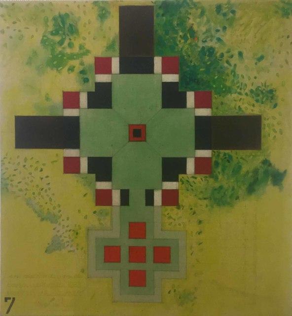, 'Refugio en los Andes 7,' 1985, Galería Lucia de la Puente