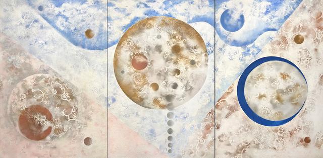 , 'Beginnings II, Triptych,' 2018, OTA Contemporary