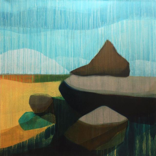 , '(Travelers) Sea Island,' 2017, Spalding Nix Fine Art