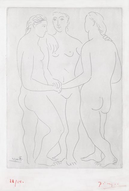 , 'The Three Friends,' 1923, McClain Gallery