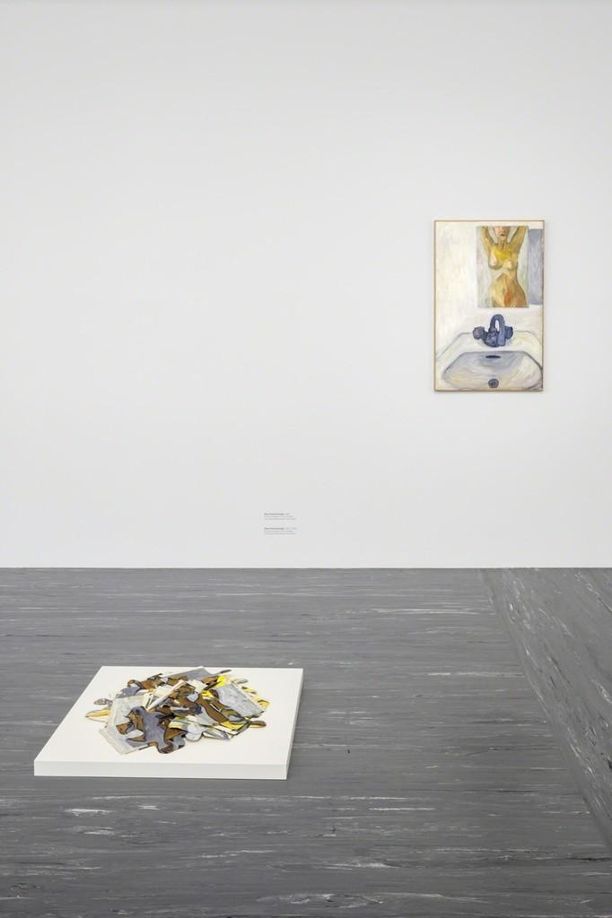 """Exhibition View """"Anna Jermolaewa – Both White"""", Photo: © Belvedere, Vienna"""