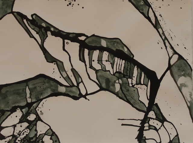 , 'Black and White Cracked Ice I #22,' 2012, ACA Galleries