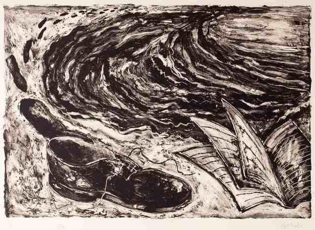 Miquel Barceló, 'Untitled (book and shoe)', 1984, Invertirenarte.es