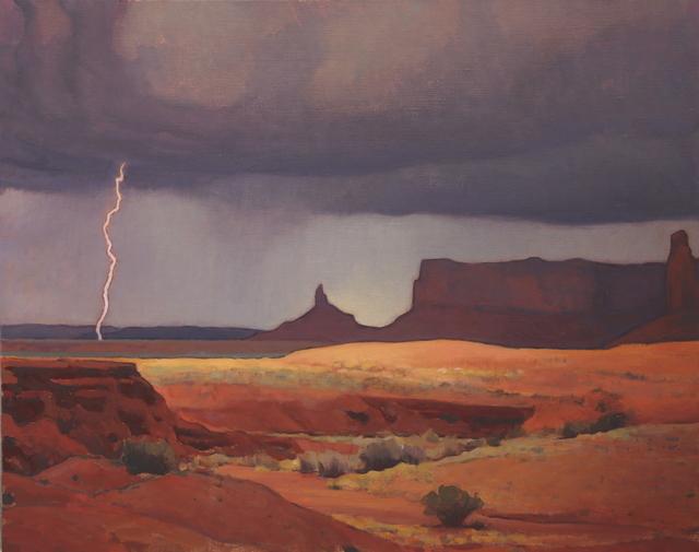 "Glenn Dean, '""Passing Storm""', 2015, Painting, Oil, Maxwell Alexander Gallery"