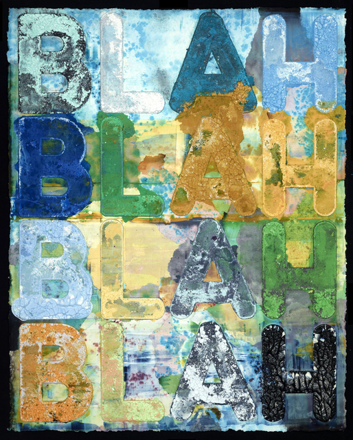 , 'Blah Blah Blah,' 2015, Quint Gallery