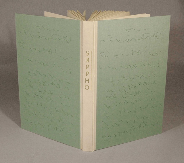 , 'Poetry of Sappho,' 2011, Arion Press