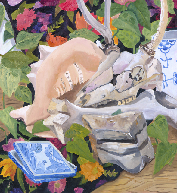 , 'Bones, Shell and Rock,' 2017, parts gallery