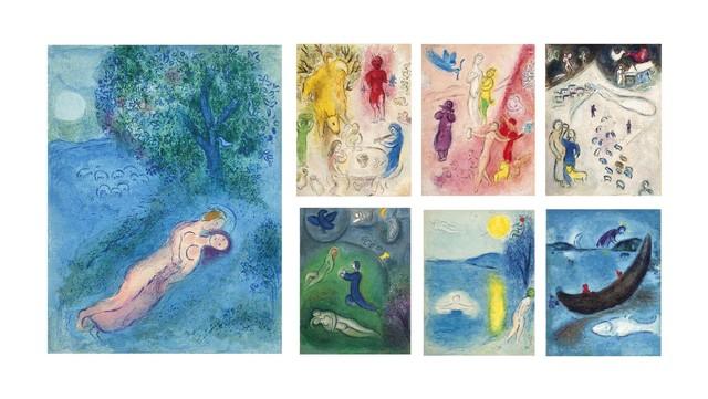 Marc Chagall, 'Longus, Daphnis et Chloé, Tériade Editeur, Paris, 1961', Christie's