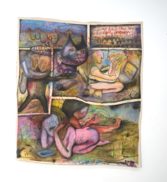 , 'Gato (Serie Duermo mal),' 2015, PIEDRAS