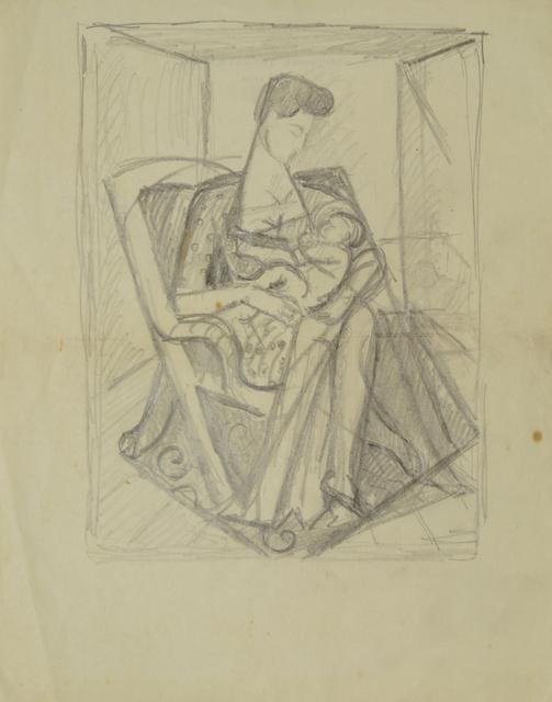 Marie Vorobieff Marevna, 'Mother and child', c.1950s, Roseberys
