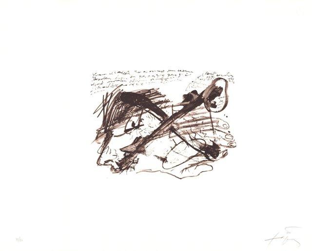 Antoni Tàpies, 'Ecriture', 1970-1980, ARTEDIO