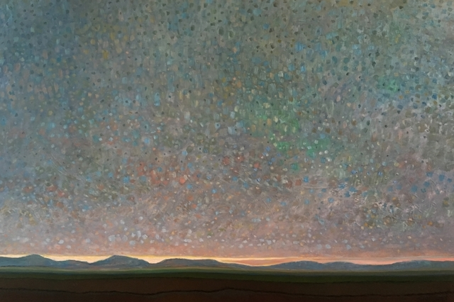 , 'Last Light Over Foothills,' 2017, The Front Gallery