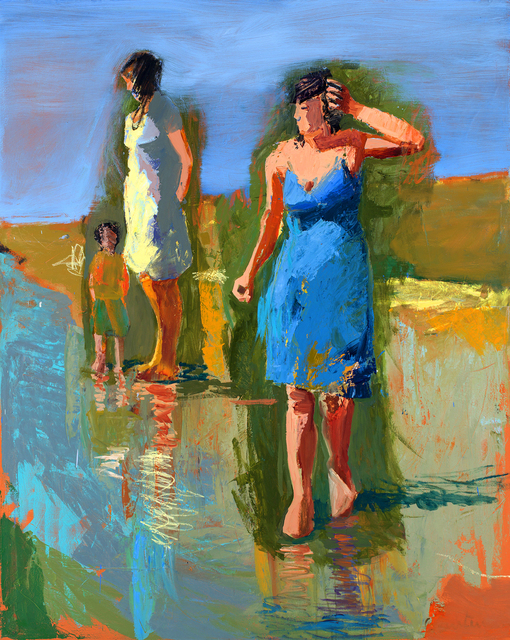 , 'Fall Beach,' , Gail Severn Gallery