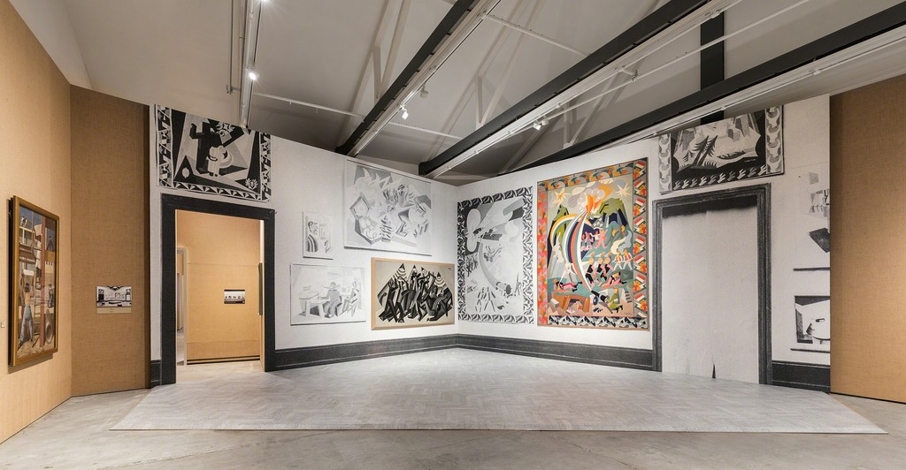 "Exhibition view of ""Post Zang Tumb Tuuum. Art Life Politics: Italia 1918-1943""Photo Delfino Sisto Legnani andMarco Cappelletti18February -25 June 2018Fondazione Prada, MilanoCourtesy Fondazione Prada"