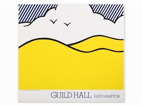 Roy Lichtenstein, 'Guild Hall East Hampton', 1980, Artsnap
