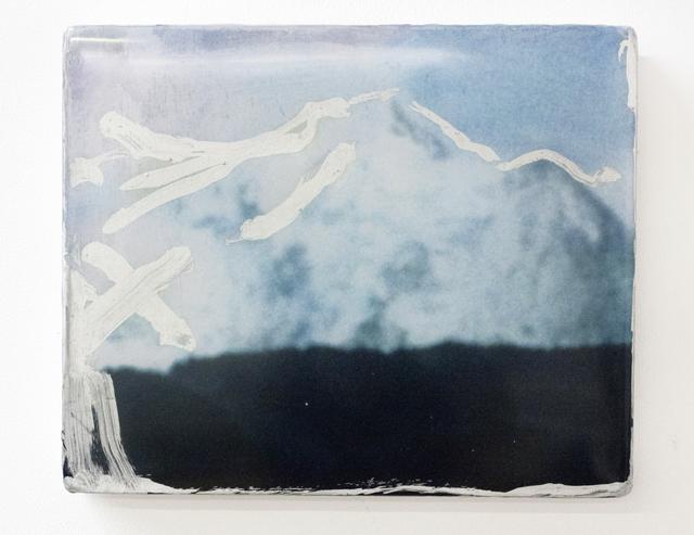 , 'Silver Contour,' 2014, Goya Contemporary/Goya-Girl Press