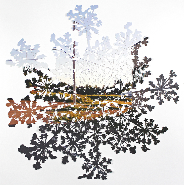 , 'Folding (Foymount No.3),' 2017, parts gallery