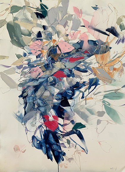 Emily Leonard, 'Wisteria ', 2019, David Lusk Gallery