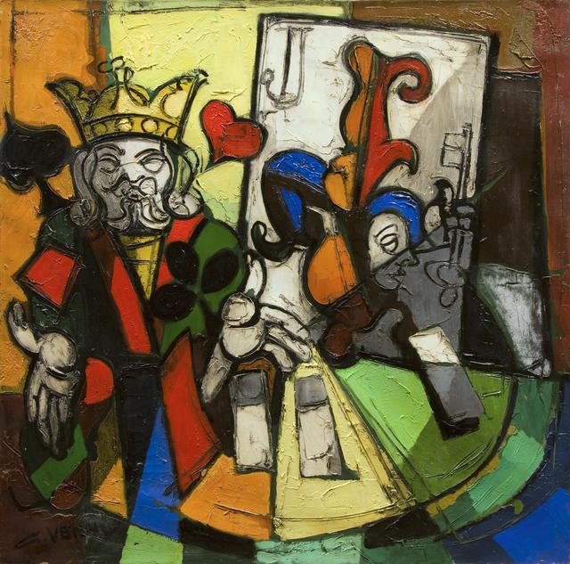 , 'Roi et Joker,' 1972, Guarisco Gallery