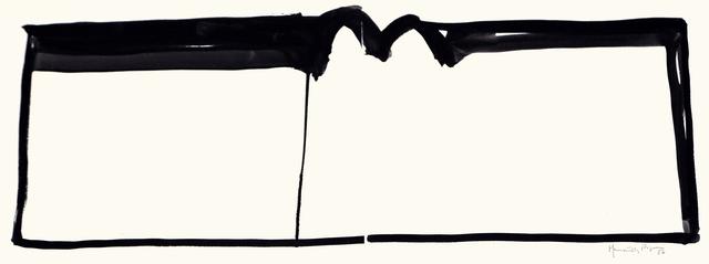 , 'Paisatge amb blanc,' 1986, Galería Joan Prats
