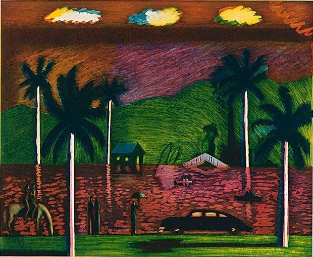 , 'Red Lake,' 1986, Posner Fine Art