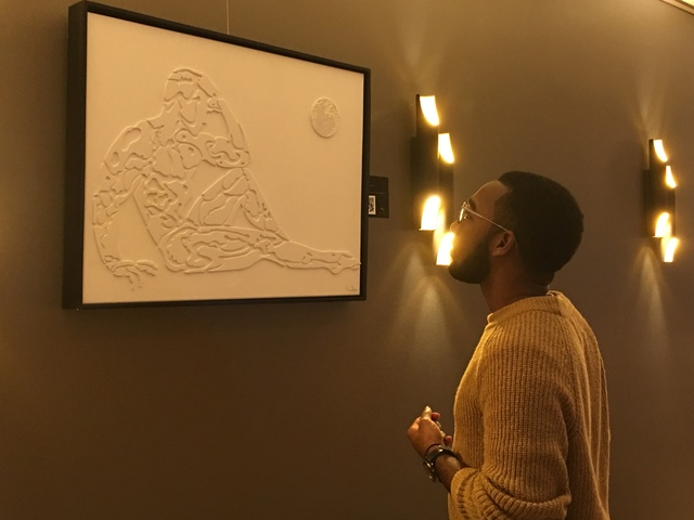 , 'Alilune,' 2013, B Lounge Art