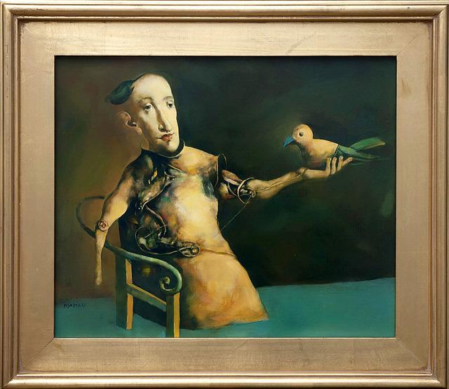 , 'L'Homme à l'Oiseau,' 2012, Turner Carroll Gallery