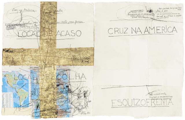 Nelson Felix, 'Desenhos para Esquizofrenia da Forma e do Êxtase', 2017-2018, Galeria Millan