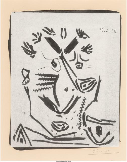 Pablo Picasso, 'Notre Dame de vie', 1966, Heritage Auctions
