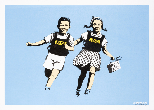 Banksy, 'Jack & Jill', 2005, Tate Ward Auctions