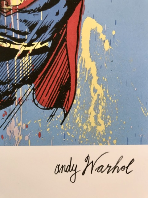 Andy Warhol, 'Superman', 1986, ByNewArt