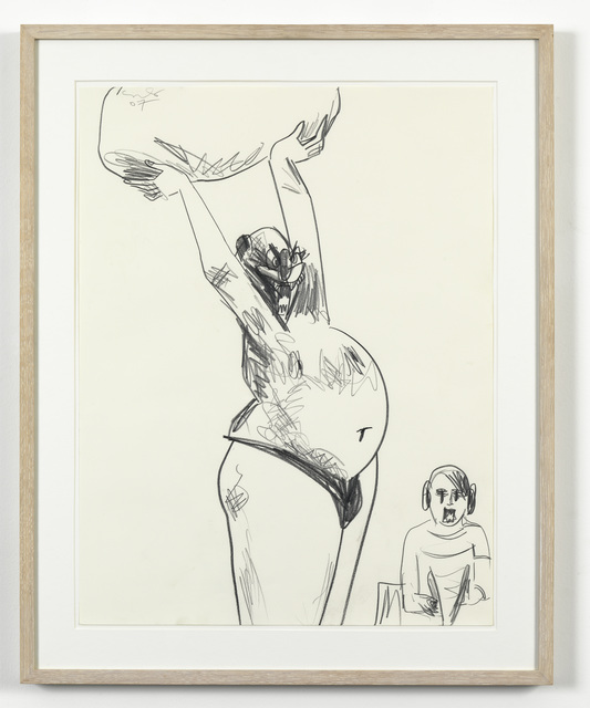 , 'Male Rock Thrower ,' 2007, Simon Lee Gallery