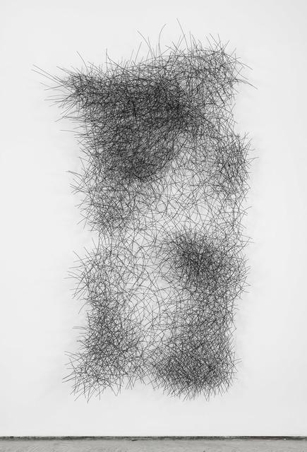 , 'Graphite Wall Cloud,' 2017, De Buck Gallery
