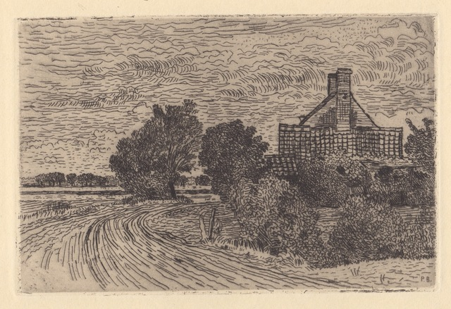 Paul Baum, 'Sint Anna ter Muiden, Dutch Flanders', 1900-1910, Hans den Hollander Prints