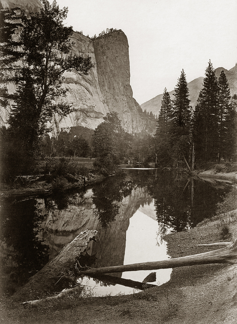 , 'Washington Column, 208 Feet, Yosemite,' 1878-1881, Robert Klein Gallery