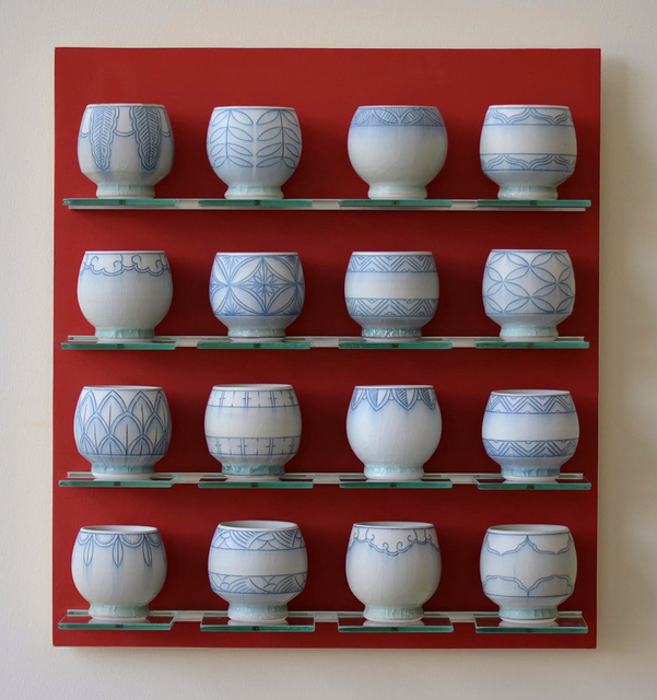 , '4x4 Cups,' 2016, Ferrin Contemporary