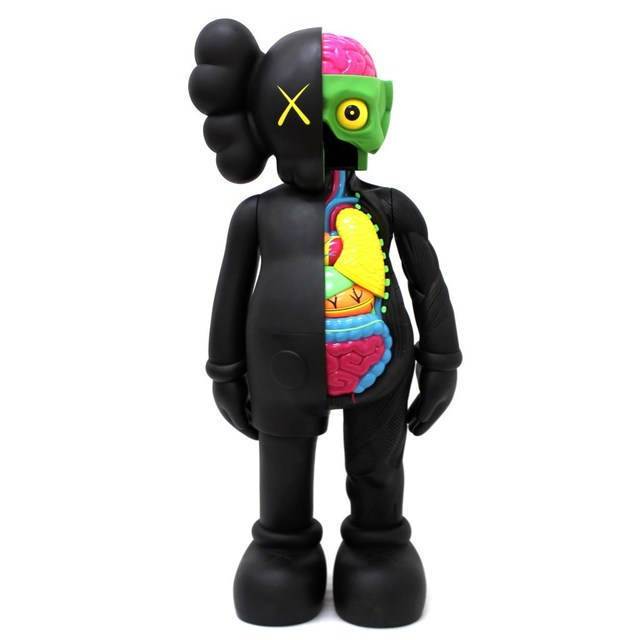 KAWS, 'Dissected Companion (BLACK) (4ft)', James Wright Gallery