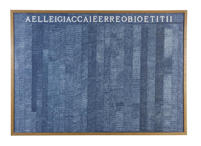 , 'Aelleigiaccaieerreobioetitii,' 1973, Ben Brown Fine Arts