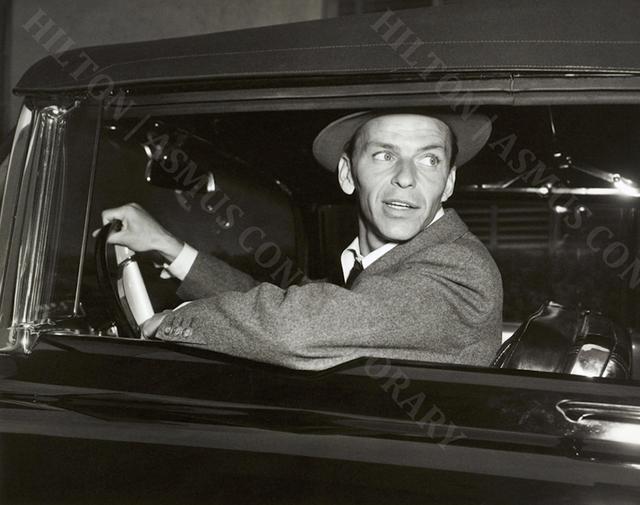 , 'Frank Sinatra - Driving Home,' ca. 1950, Hilton Asmus