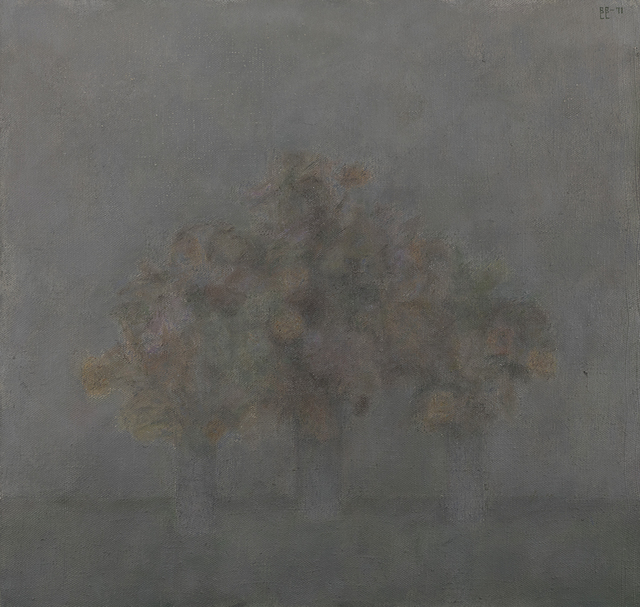 , 'Flowers in three vases,' 1971, Art4.ru