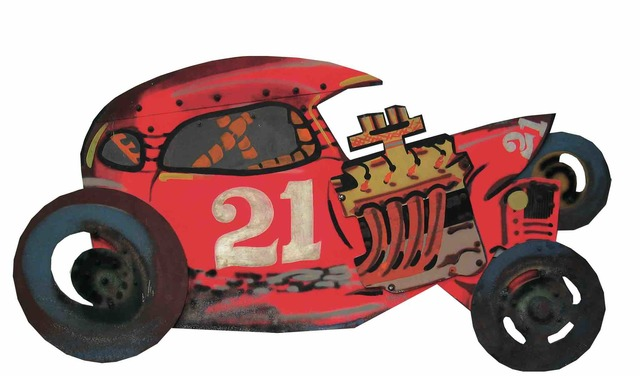 , 'Racing Car 21,' 1967-1968, Tornabuoni Art