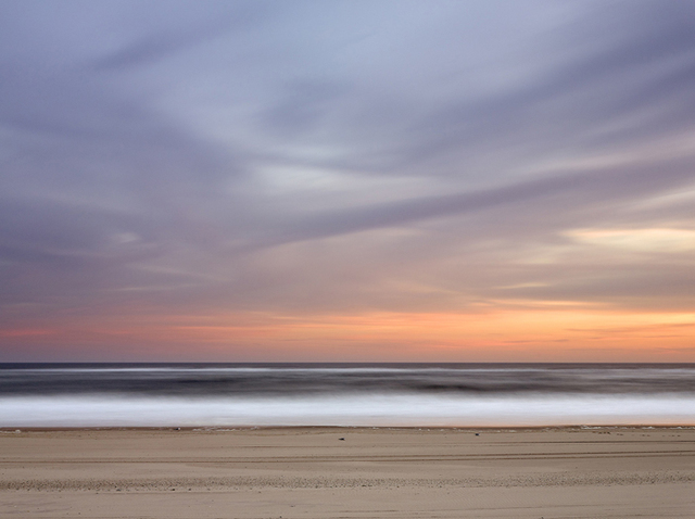 , 'Resting Gulls at Cooper's Beach at Dusk ,' 2014, Tulla Booth Gallery